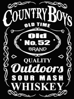 Country Boys Whiskey T-Shirt