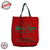 "JIT234CD - 10oz Colored Canvas Jumbo Tote Bag w/ Gusset - 18"" x 17"" x 6"""