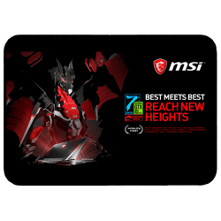 "JIT167FC - Premium Rubber Full Color Dye Sublimation 10"" H x 13.75"" W Grande Mouse Pad"