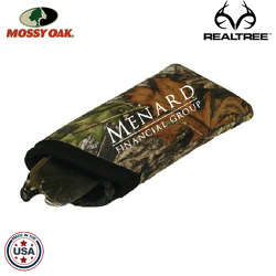 JIT57TC - Mossy Oak or Realtree Premium Foam Padded Curved Eyeglass Sleeve