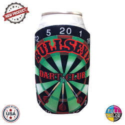 JIT44FC - Full Color Collapsible Foam Dartboard Coolie
