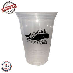 JIT141 - 16oz Soft Sided Clear Cup