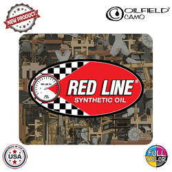 "JIT50OCFC - Premium Rubber Oilfield Camo Full Color Dye Sublimation 7.25"" H x 9"" W Rectangular Shaped  Mouse Pad"