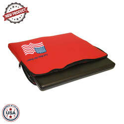 JIT48 - Extra Large Premium Foam Laptop Case with Zippered Closure