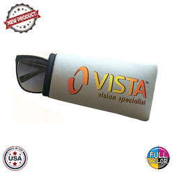 JIT56FC - Premium Full Color Dye Sublimation Foam Padded Straight Eyeglass Sleeve