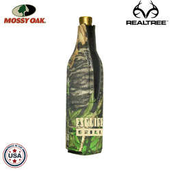 JIT25TC - Mossy Oak Premium Collapsible Foam Wine Suit Bottle Insulator