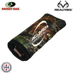 JIT56TC - Mossy Oak or Realtree Premium Foam Padded Straight Eyeglass Sleeve