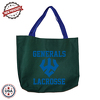 "JIT232CD - 10oz Colored Canvas Tote Bag w/ Gusset - 16"" x 11"" x 3"""