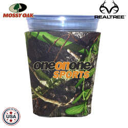 JIT06TC - Mossy Oak or Realtree Premium Collapsible Foam Solo Style Cup Insulator