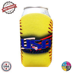 JIT44FC - Full Color Collapsible Foam Softball Coolie