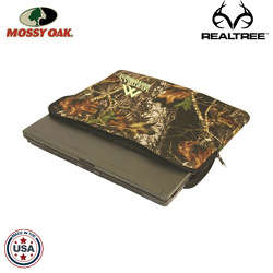 JIT46TC - Mossy Oak or Realtree Standard Premium Foam Laptop Case with Zippered Closure