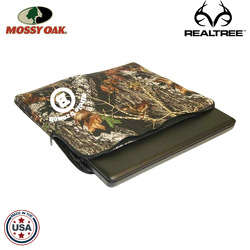 JIT48TC - Mossy Oak or Realtree Extra Large Premium Foam Laptop Case with Zippered Closure