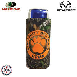 JIT34TC - Mossy Oak or Realtree Premium Collapsible Foam 12oz Michelob Ultra Can Insulator
