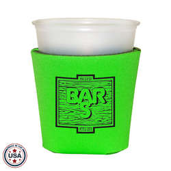 JIT19 - Premium Collapsible Foam 12oz Solo Style Cup Insulator