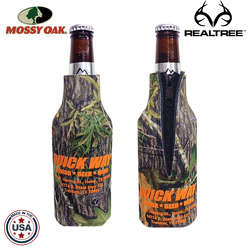JIT03TC - Mossy Oak or Realtree Premium Collapsible Foam Bottle Zipper Insulator