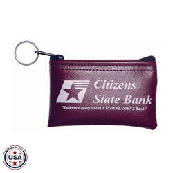 "JIT70 - 4.5"" x 2.5"" Pocket Coin Bank Bag"