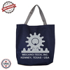 "JIT233CD - 10oz Colored Canvas Tote Bag w/ Gusset - 16"" x 13.5"" x 3"""