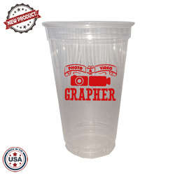 JIT142 - 20oz Soft Sided Clear Cup