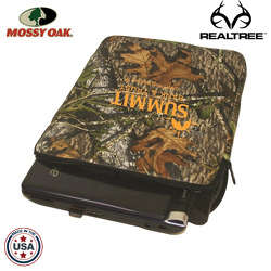 JIT49TC - Mossy Oak or Realtree Premium Foam Netbook Case with Zippered Closure