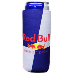 JIT27FC - Premium Full Color Dye Sublimation Collapsible Foam 12oz Energy Drink Can Insulator