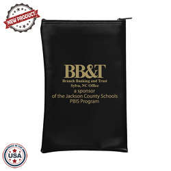 "JIT77 - 7"" x 10"" Vertical Bank Bag"