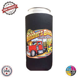 JIT30FC - Premium Full Color Dye Sublimation Foam 32oz Crowler Can Insulator