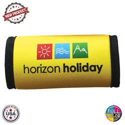 JIT23FC - Premium Full Color Dye Sublimation Foam Padded Luggage Hand Grip
