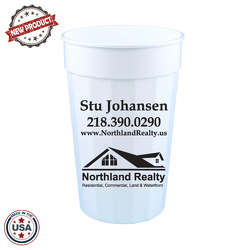 JIT98 - 22oz Fluted Stadium Cup