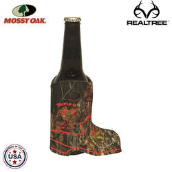 JIT08TC - Mossy Oak or Realtree Premium Collapsible Foam Boot Shaped Insulator