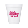 JIT150 - 8oz White Styrofoam Insulated Hot or Cold Foam Cup