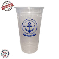 JIT143 - 24oz Soft Sided Clear Cup