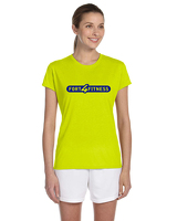 Ladies Performance Short Sleeve - Yellow