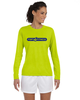 Ladies Performance Long Sleeve - Yellow