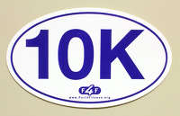 10K Car Decal