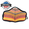JIT800FC - Small Full Color Dye Sublimation Face Mask Multi-Ply with Elastic Loops